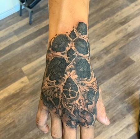 Tattoos - Jesse Carlton Skull - 139640