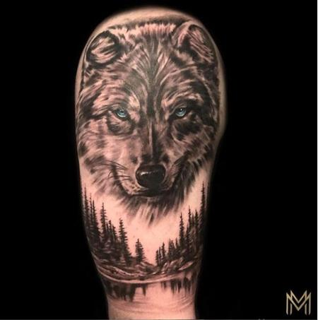 Tattoos - Matt Morrison Wolf - 139637