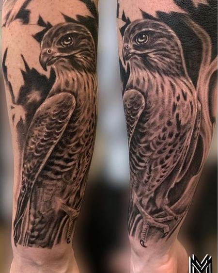 Tattoos - Matt Morrison Eagle - 139855