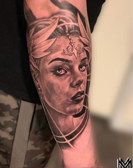 Matt Morrison Athena Goddess