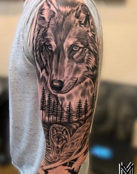 Matt Morrison Wolf Sleeve