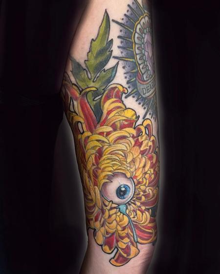 Tattoos - Miss Amanda Weeping Eye - 141520