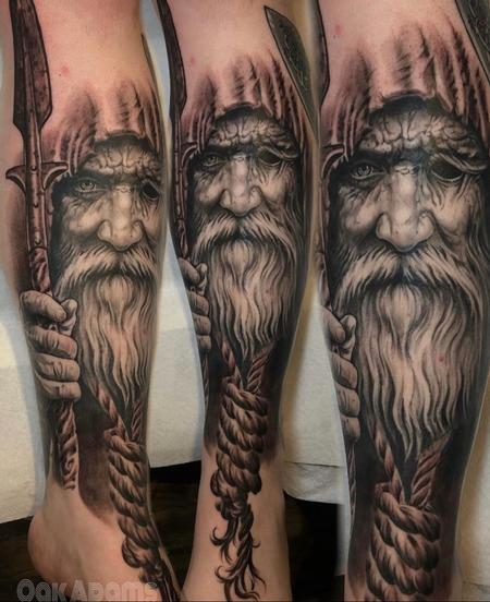 Tattoos - Oak Adams Odin II - 140968