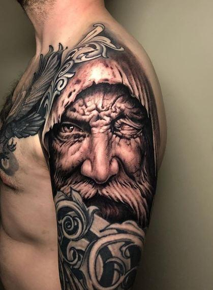 Tattoos - Oak Adams Odin - 140097