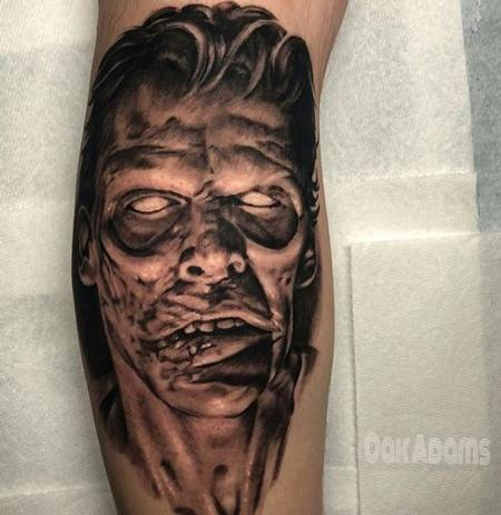 Tattoos - Oak Adams Zombie - 140430
