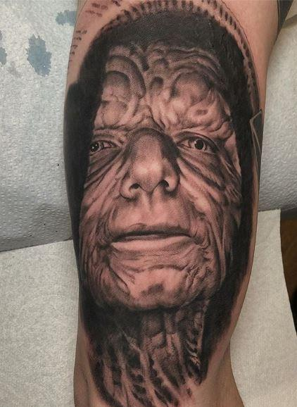 Tattoos - Oak Adams Star Wars Progress Sleeve, Sidious - 138983