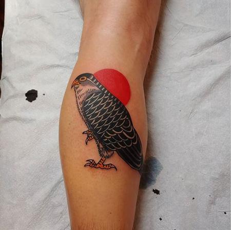 Tattoos - Quade Dahlstrom Falcon - 141263
