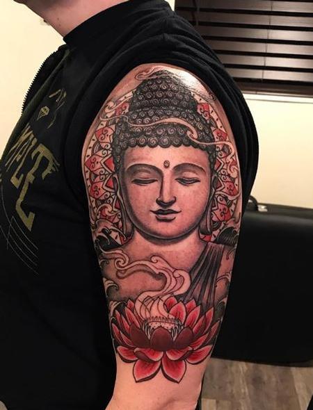 Shawn Morrison Buddha Lotus