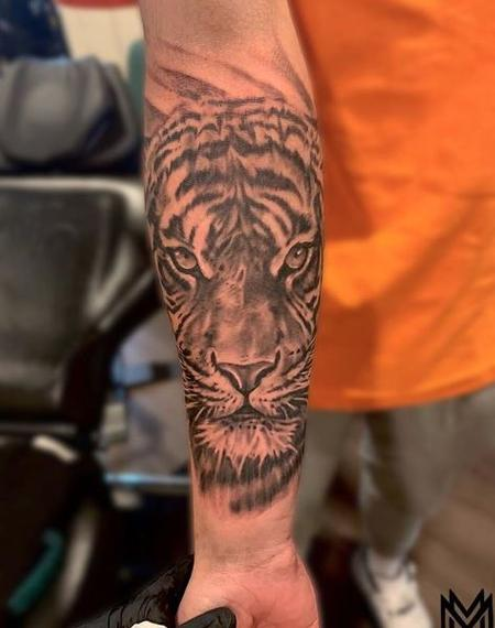 Tattoos - Matt Morrison Tiger - 138274