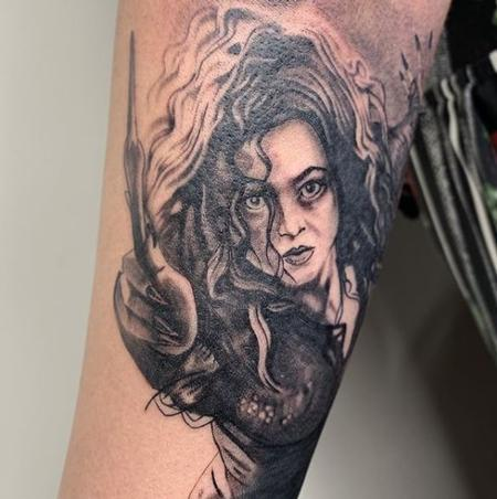 Tattoos - Tori Loke Bellatrix Lestrange - 139140