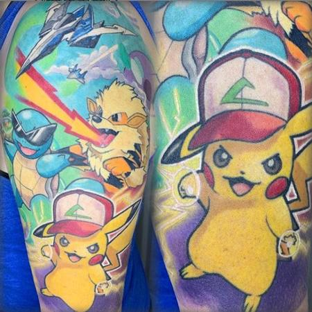 Tattoos - Tori Loke Pokemon - 138809