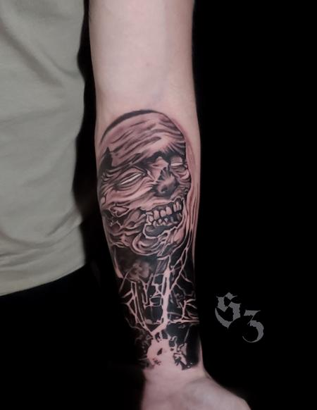 Tattoos - Quade Dahlstrom Zombie - 142183