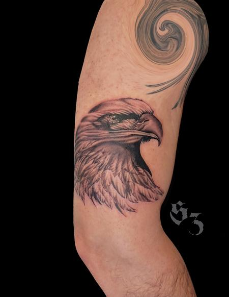 Tattoos - Quade Dahlstrom Eagle - 142190
