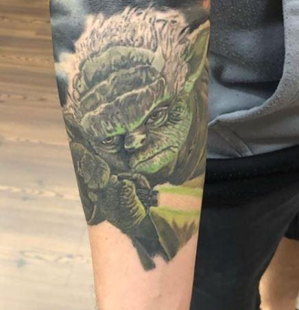 Tattoos - Chris Good Yoda - 140435