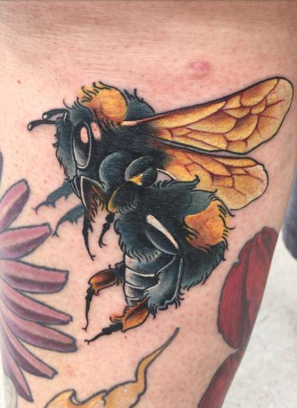 Tattoos - Tori Loke Bumble bee - 138853