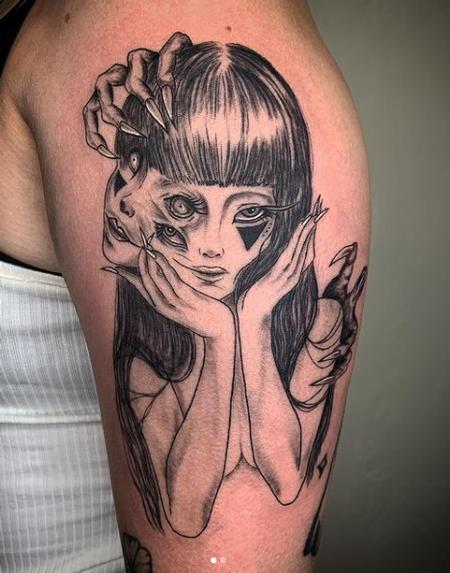 Tattoos - Tomie by Junjitto - 142876
