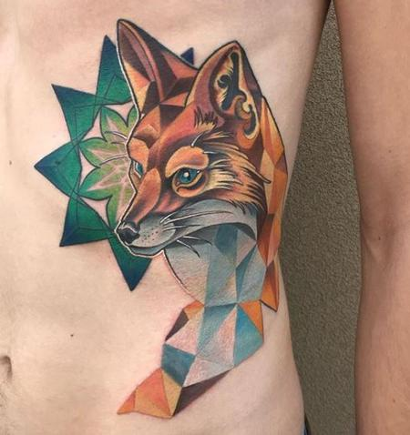 Tori Loke Geometric fox