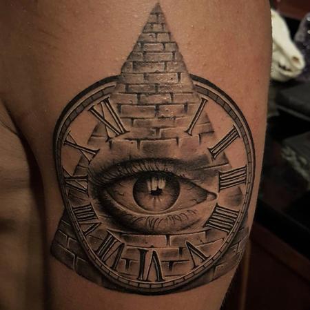 Tattoos - Illuminati Tattoo  - 134544