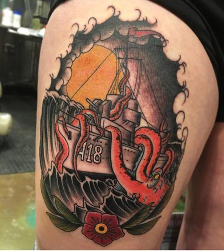 Billy Williams - Ship Tattoo