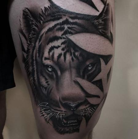 Tattoos - Tiger - 136144