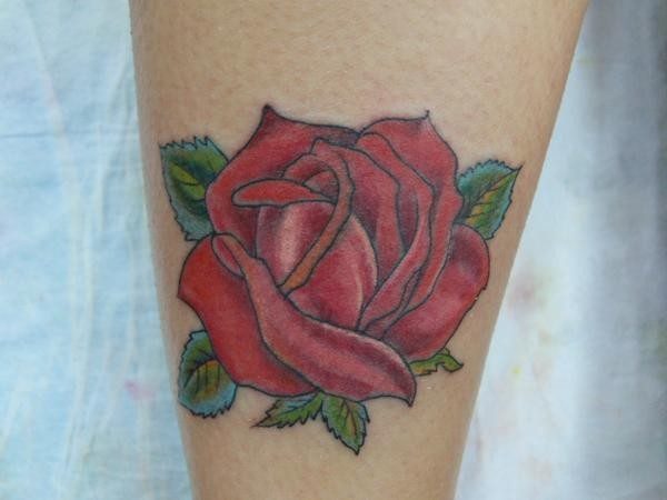 Tattoos - Rose Tattoo - 49550