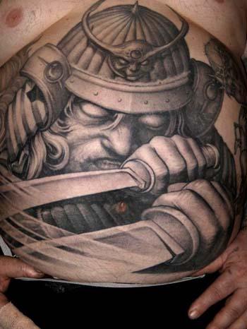 Tattoos - Evil warrior tattoo - 28942