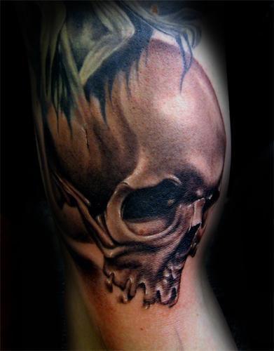 Tattoos - Skull. - 54452