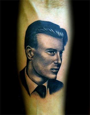 Tattoos - Portrait for Reckless Love's Olli Herman Kosunen - 59784