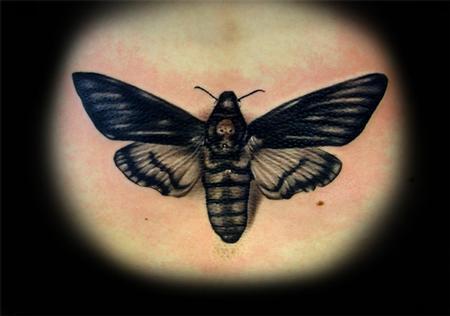 Tattoos - Acherontia atropos - 58200