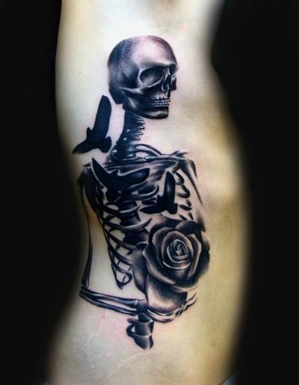 Tattoos - Skeleton - 62553