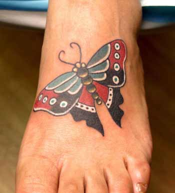 Tattoos - butterfly - 21985