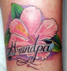 Tattoos - flower - 27643