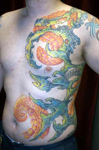 Tattoos - jims ribs - 21983