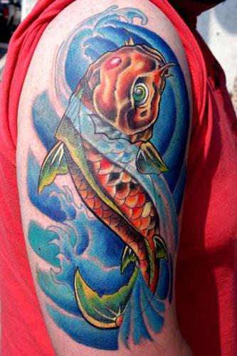 Tattoos - koi half sleeve - 21964