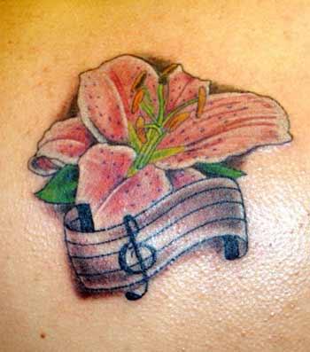 Tattoos - lily - 21989
