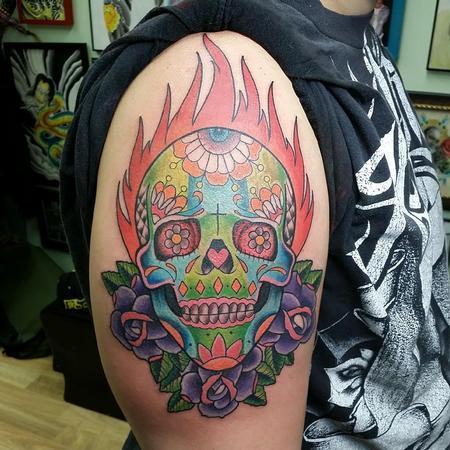Tattoos - Sugar skull - 94418