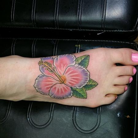 Tattoos - Hibiscus - 94419