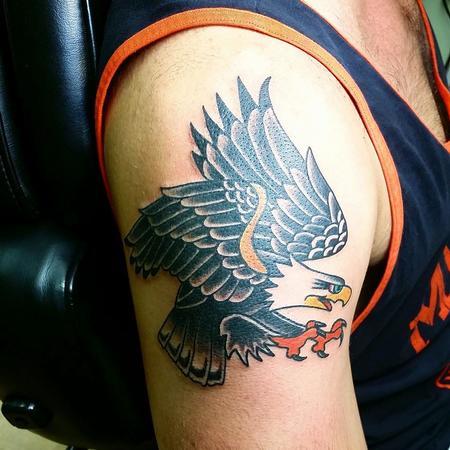 Tattoos - Sailor Jerry eagle - 94423