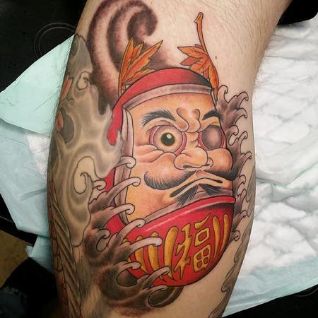 Tattoos - Daruma - 94416
