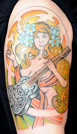 Tattoos - Mucha maiden - 43220
