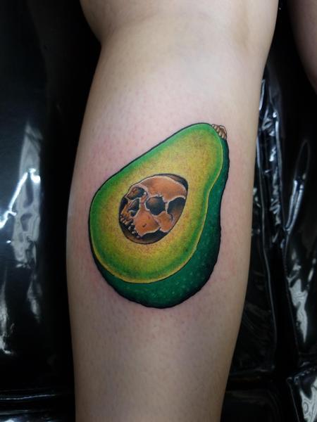 Tattoos - Skullvacado - 140325