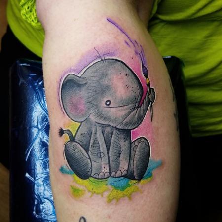 Tattoos - Arthur the artist - 140320