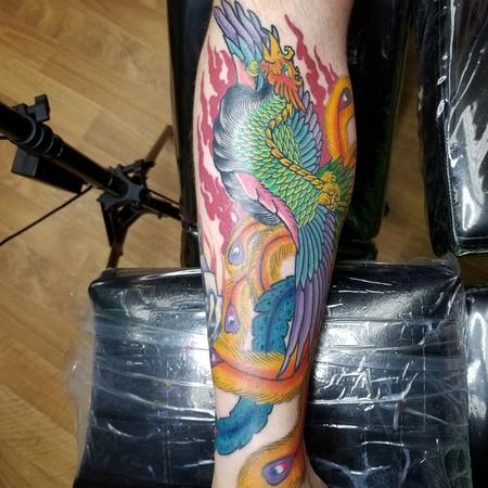Tattoos - Phoenix rising  - 140316