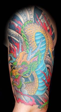 Tattoos - Dragon - 47530