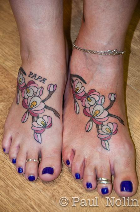Tattoos - Flowers - 56077