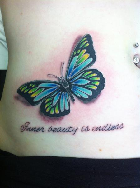 Tattoos - Butterfly - 76730