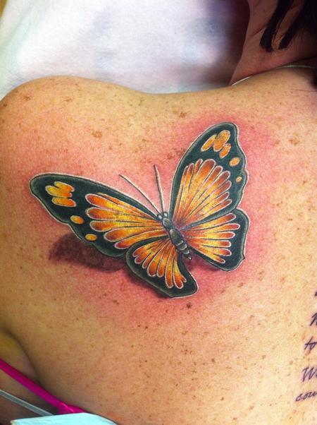Tattoos - B fly - 76731