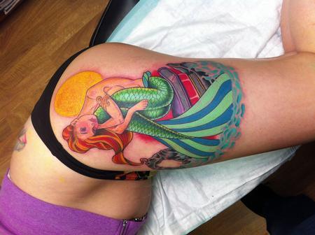Tattoos - Mermaid - 76721