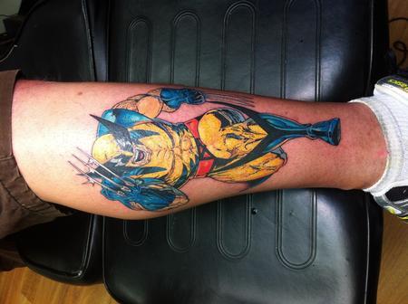 Tattoos - Wolverine - 76723