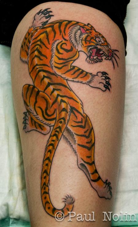 Tattoos - Tiger - 56075